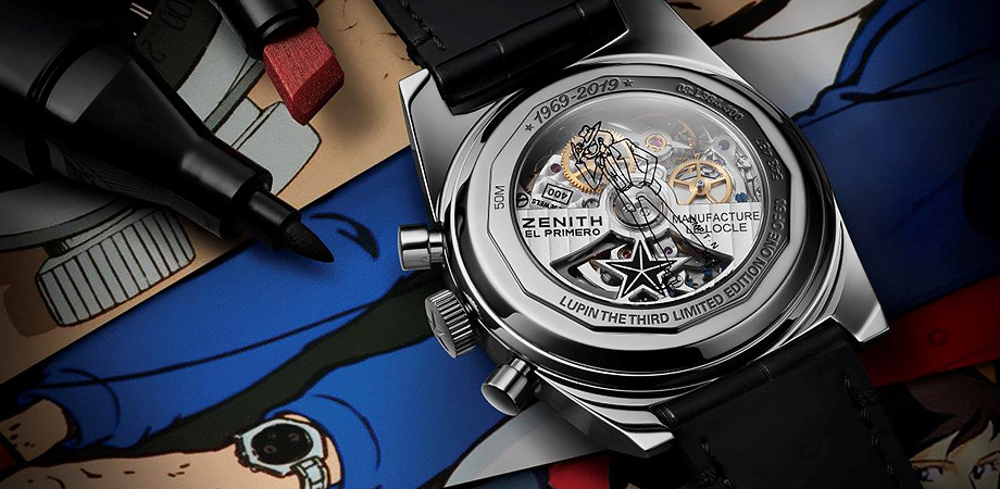 часы Zenith А384 Revival «Lupin The Third» Edition