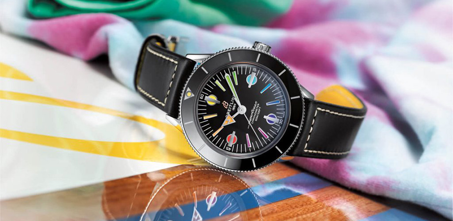 Наручные часы серии Breitling Superocean Heritage '57 Rainbow Limited Edition II