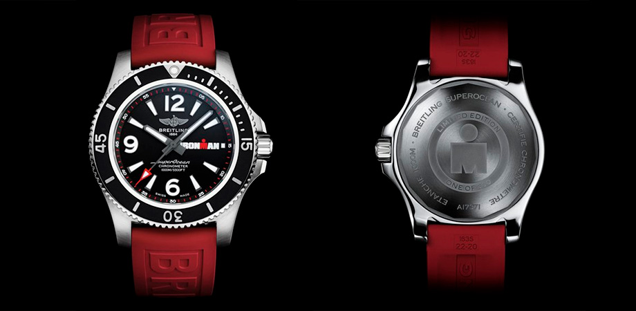 часы Breitling Superocean Automatic 44 IRONMAN Limited Edition