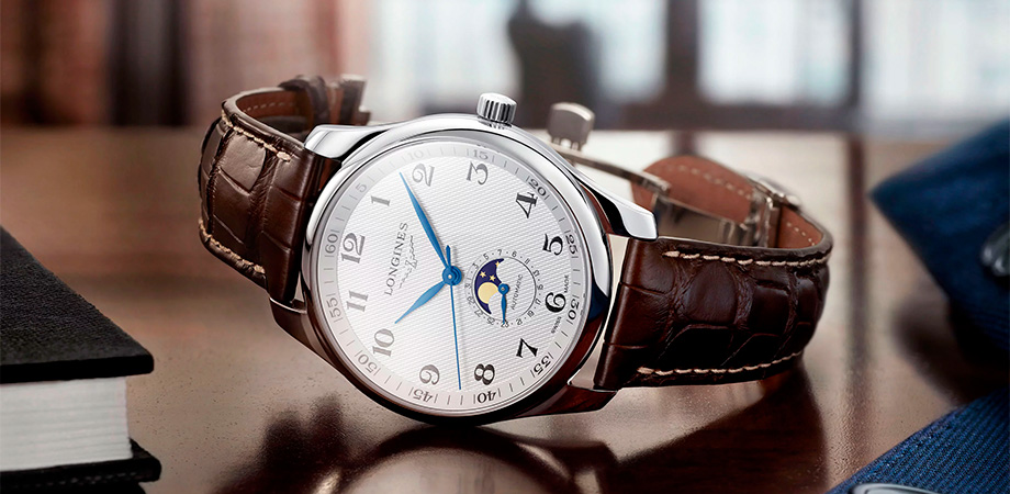 часы Longines Master Collection Moonphase