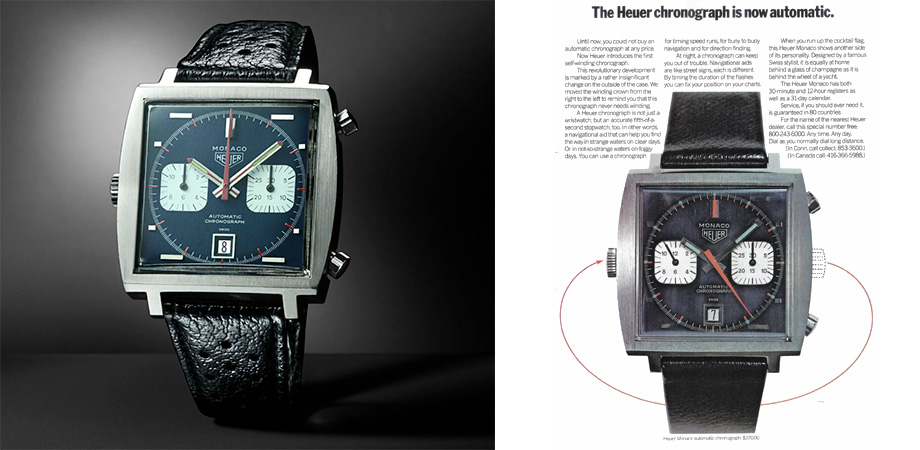 часы TAG Heuer Monaco 1969-1979 Limited Edition
